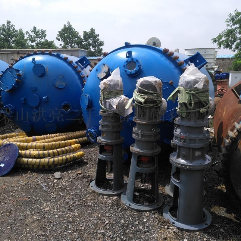 供应一套5000L化工厂用二手搪瓷反应釜