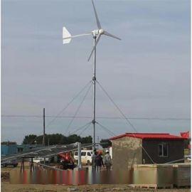 晟成产品500W风光互补风力发电机寿命长