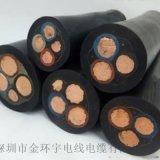 金环宇电缆橡套电缆YZ2*1.5移动设备线100米
