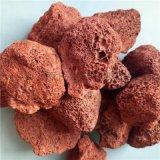多肉介質顆粒 污水處理火山石 3-6cm天然火山石