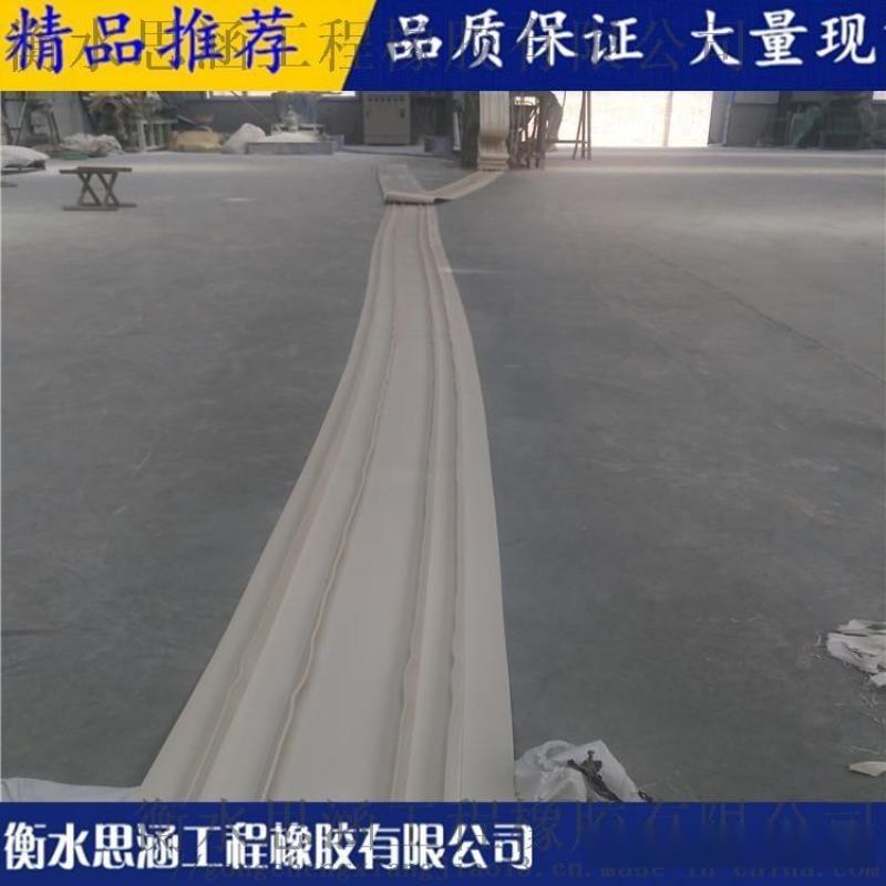 PVC塑料外贴式止水带 钢边式 中埋式橡胶止水带