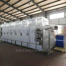 桂花烘干网机 大型带式桂花干燥设备