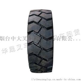青岛环保无痕耐磨叉车实心轮胎