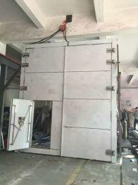 防爆门预埋管件安装方法