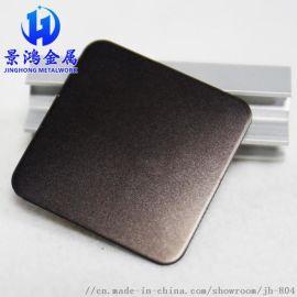 不锈钢彩色板建筑装饰 304喷砂灰钢不锈钢板