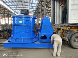 厂家供应立轴式制砂机 移动多功能板锤制砂机