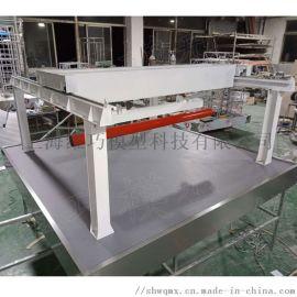 不锈钢材质桥式起重机模型定制门式桥式龙门起重机模型