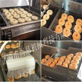 電加熱麪包圈油炸機 不鏽鋼全自動甜甜圈油炸機廠家