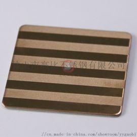 喷砂蚀刻钛金不锈钢板304彩色锈钢装饰板