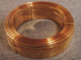 供应黄铜扁线,H68进口黄铜线,软态黄铜线