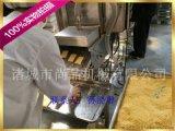 雪花紅豆派上麪包屑機 雪花紅豆派裹麪包糠機