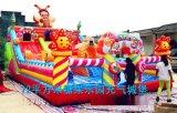 各种规格糖果乐园儿童充气城堡小孩子喜爱卡通充气蹦床