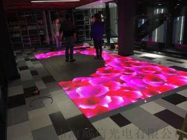 led地砖屏室内高清p3.91互动地板电子显示屏