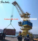 30吨15米港口轨道移动式门座起重机