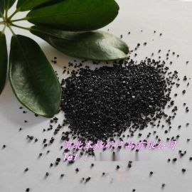 本格供应黑金砂 黑色石英砂 地坪耐磨用非金属金刚砂