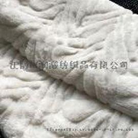 小兔毛超柔毛毯