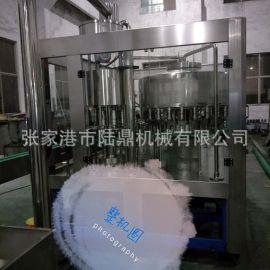 专业供应果汁饮品茶饮料热灌装三合一机组 果汁茶饮料灌装设备