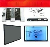 22寸液晶透明顯示屏觸摸櫥窗展示櫃OLED透明屏透明拼接顯示屏