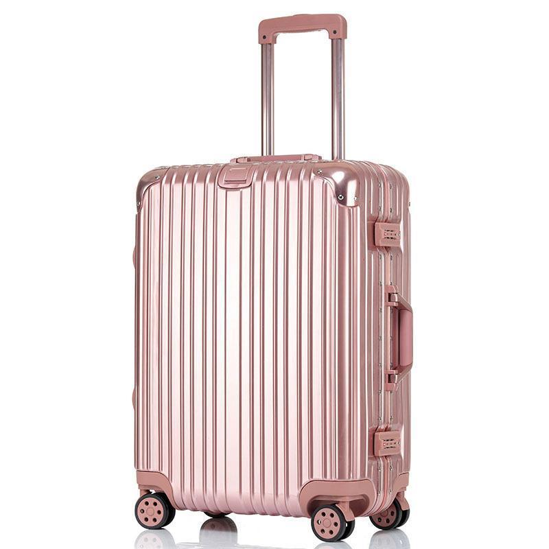 20寸行李箱密碼鎖萬向輪拉桿箱供應定做可加logo實用禮品定做