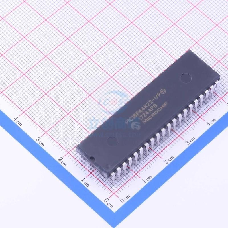 微芯/PIC18F44K22-I/P原裝