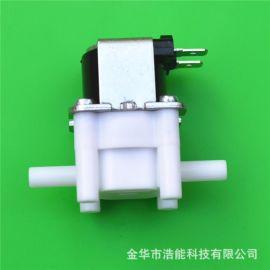 电磁阀二分快插杆6.3mm小型化饮水机净水器饮水机