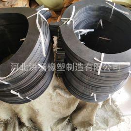 橡胶缓冲减震垫块 防震橡胶胶块 圆形橡胶密封垫片