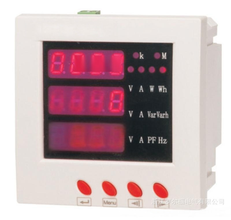 PD194E-2S4 外形120*120 开孔108*108 三相多功能电力仪表