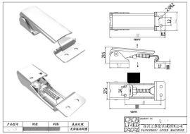 廠家供應QF-008燒烤爐調節搭扣 戶外野炊廚具搭扣
