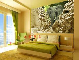 UV无缝壁画定制 个性墙纸壁画订做 大型无框壁画 壁画工艺技术