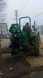 临颍树坑机   拖拉机带动挖 树坑机