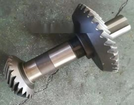 颗粒机齿轮箱 减速机配件 减速机齿轮伞齿价格