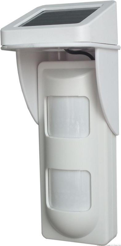 商立OSD-40DP戶外太陽能充電無線被動紅外探測器