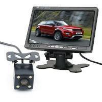 倒车后视系统  7寸台式显示器 LED车载摄像头