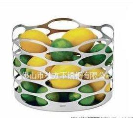 不锈钢果盘 佛山生产厂家 不锈钢精品果盘 客厅实用装饰艺术果盘