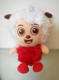 羊年**毛绒玩具羊 各类毛绒玩具专业加工定制