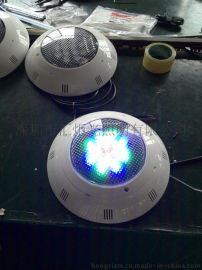 厂家直销led泳池灯12Wrgb遥控塑料泳池灯led水底灯挂壁式水下灯