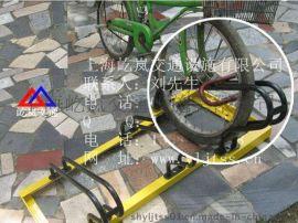 西昌市自行车停放架 卡位式自行车停放架