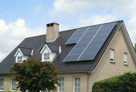 供应河南 家用太阳能 分布式光伏发电并网系统-2KW 屋顶光伏发电 太阳能光伏组件设备