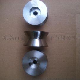 厂家供应不锈钢304V型槽导线轮,不锈钢304U型槽导线轮,高品质,高承重导线轮