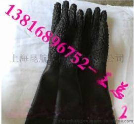 徐州65公分長加厚乳膠噴砂手套 耐磨橡膠噴砂手套