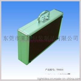 二通手提箱YY0331 精致铝箱