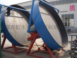 复合肥圆盘造粒机 颗粒制肥设备 圆盘造粒生产线