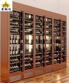 厂家直销酒吧葡萄酒酒柜 KTV红酒柜 家用不锈钢酒柜