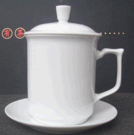 加工瓷器杯子定制陶瓷茶杯办公杯订做陶瓷马克杯厂家价格图片