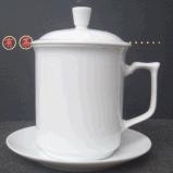 加工瓷器杯子定製陶瓷茶杯辦公杯訂做陶瓷馬克杯廠家價格圖片