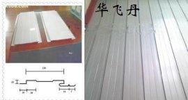 加油站吊顶板12-148型彩钢板,0.4厚白灰色小扣板