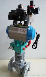 气动高温导热油  智能调节球阀hfaq641h-16