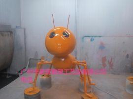 厂家直销玻璃钢雕塑仿动物蚂蚁工艺品  园林雕塑  蚂蚁雕塑