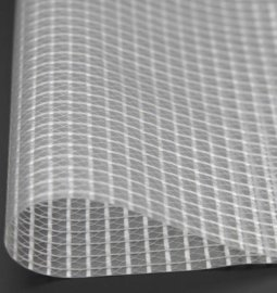 pvc透明网夹布