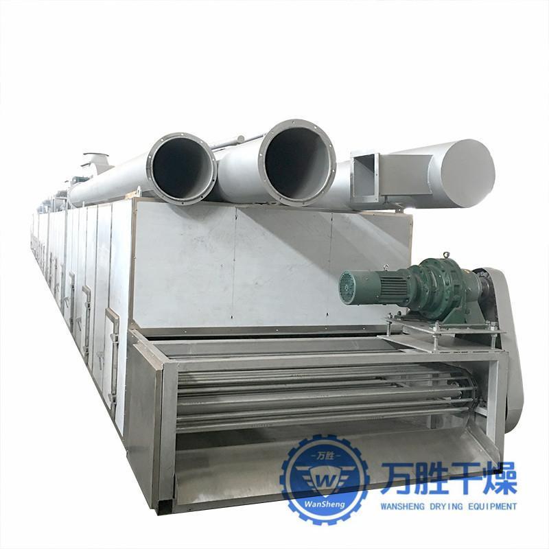 常州厂家直销豆腐猫砂带式干燥机 白灵菇连续多层网带式干燥设备